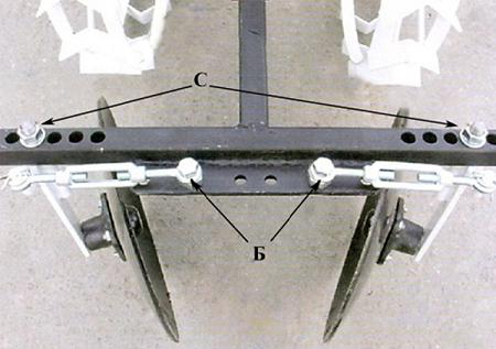 Размеры окучника для мотоблока своими руками фото 801