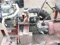 Установка коробки передач на конструкцию мини-трактора