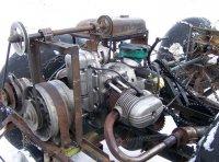 Самодельный минитрактор своими руками - установка двигателя
