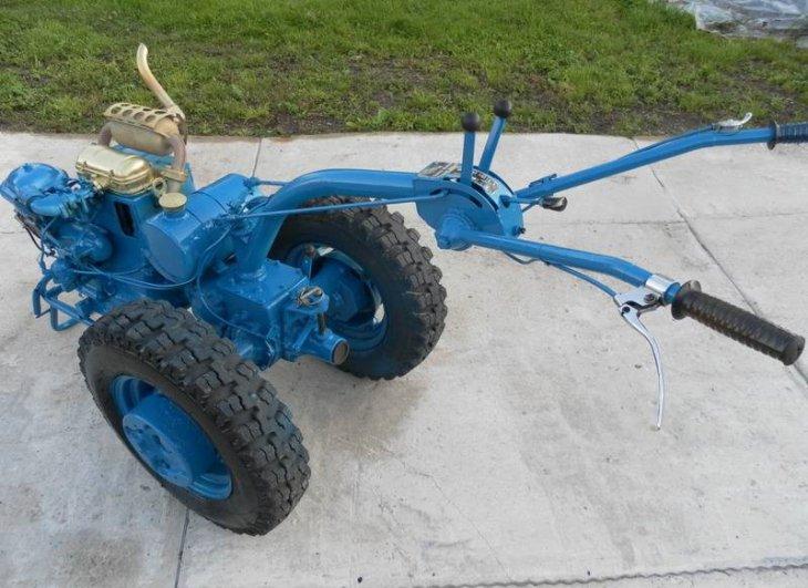 Мини трактор с мотоблока мтз 05 - YouTube